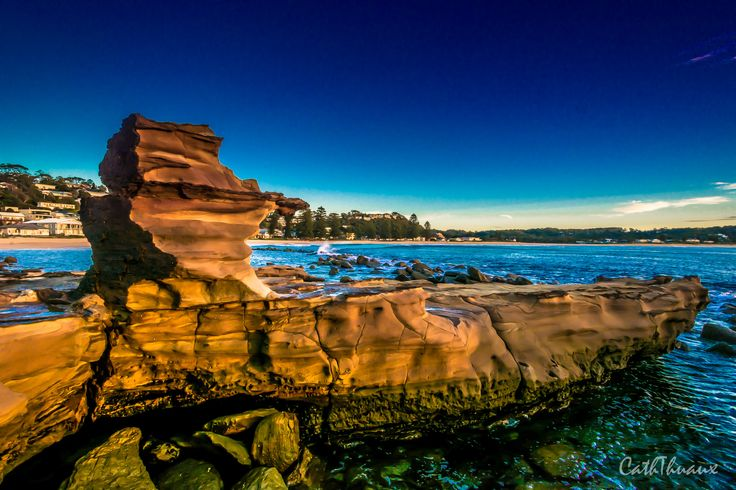 Avoca Beach Rock Platform photo