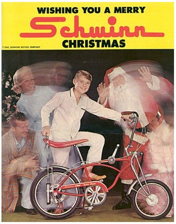Schwinn made the coolest bikes when I was a kid!