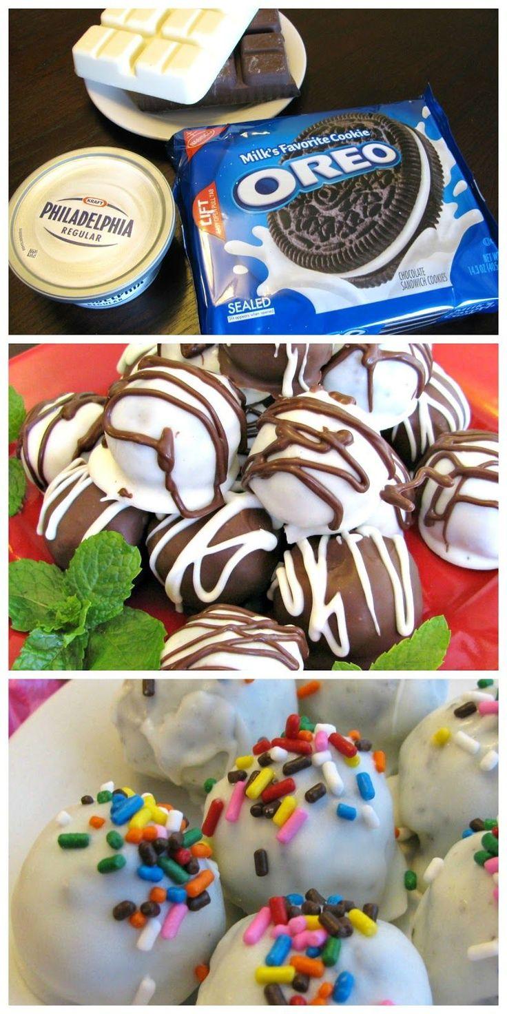 Sugarplum's Kitchen: Oreo Balls