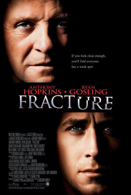 Fracture (2007) - An attorney intent on climbing the career ladder toward success, finds an unlikely opponent in a manipulative criminal he's trying to prosecute.