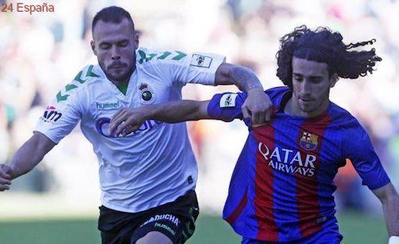 Dónde ver el Barça B-Racing de ascenso a Segunda división