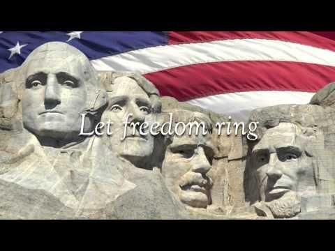 Let Freedom Ring ( My Country 'Tis of Thee ) Abby Anderson - with Lyrics and beautiful scenery .   <3