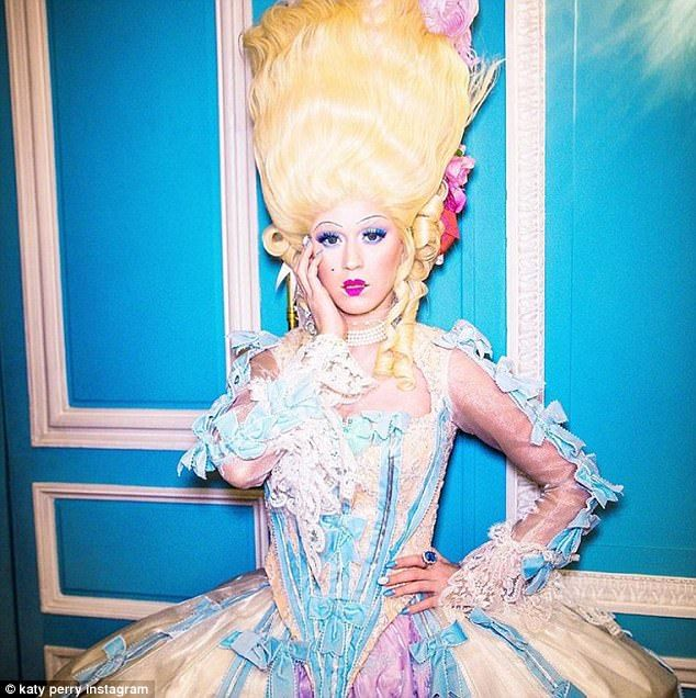 Katy Perry Transforms Into Marie Antoinette