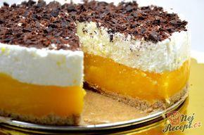 Nepečené sladké dobroty jsou nejlepší. Výborný meruňkový dort, který je famózní. Sušenkový základ, vrstva meruněk a jogurtová nádivka. Ozdobený strouhanou tmavou čokoládou. Mňamka! Autor: Lacusin