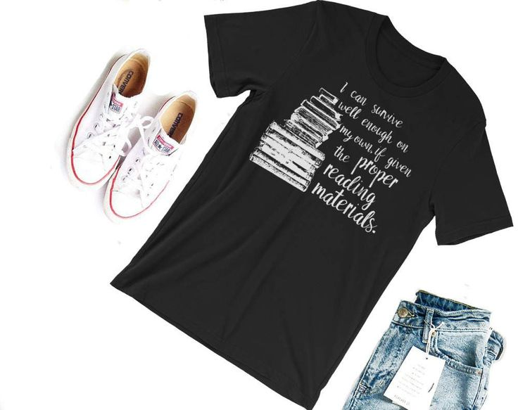 Proper Reading Material Shirt-- Throne of Glass