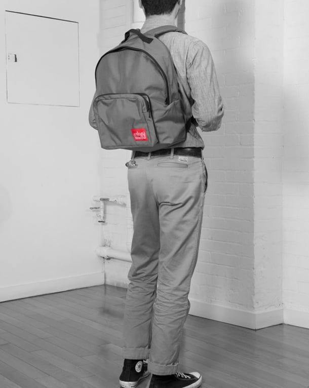 Manhattan Portage Big Apple Backpack Black   80s Casual Classics