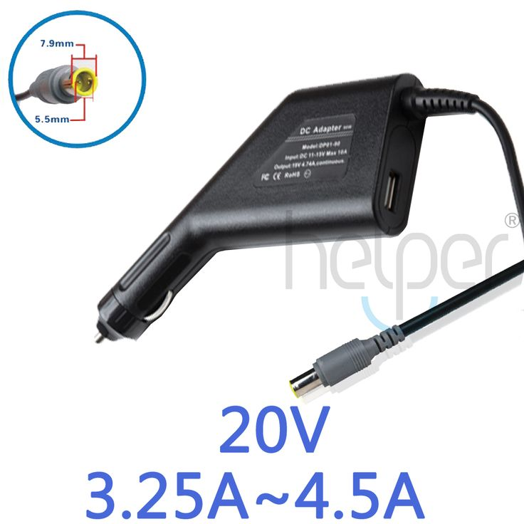 DC Car power Adapter Charger For IBM/lenovo X60 X61 Z60 Z61 E420 X200 X300 T60 T61 T400 SL400 SL500 20V 3.25A 65W 20V 4.5A 90W