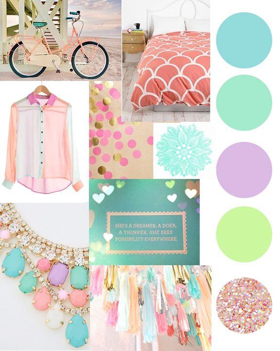 Laura Dro Designs - pastel color palette