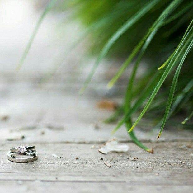 Sabs&Jeff wedding rings by claudia trejos joyas,  Jessica Holleque,  photographer (Minnesota)