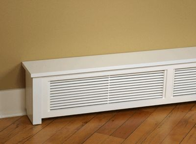 Another baseboard heater cover option for the new house in Asbury.