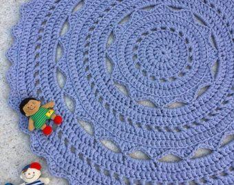 Tapete alfombra alfombra gris carbón estaño grande por EvaVillain