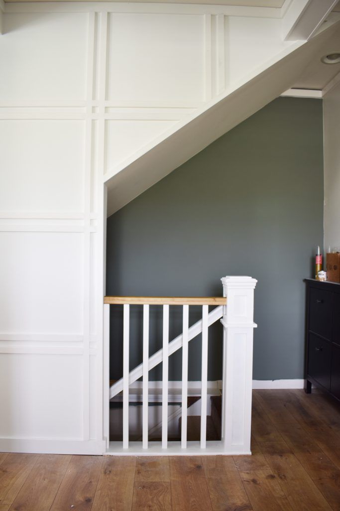 One Room Challenge Week 3 Demoing And Rebuilding My Banisters Hilltown House White Staircase Banisters Challenge Week One room challenge week 3