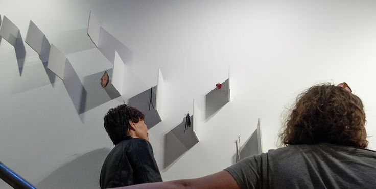 Kristin D'Agostino's exhibition, Symmetry is the work of the devil 22/3/2015 - 16/4/2015, Photo courtesy Arts Diary