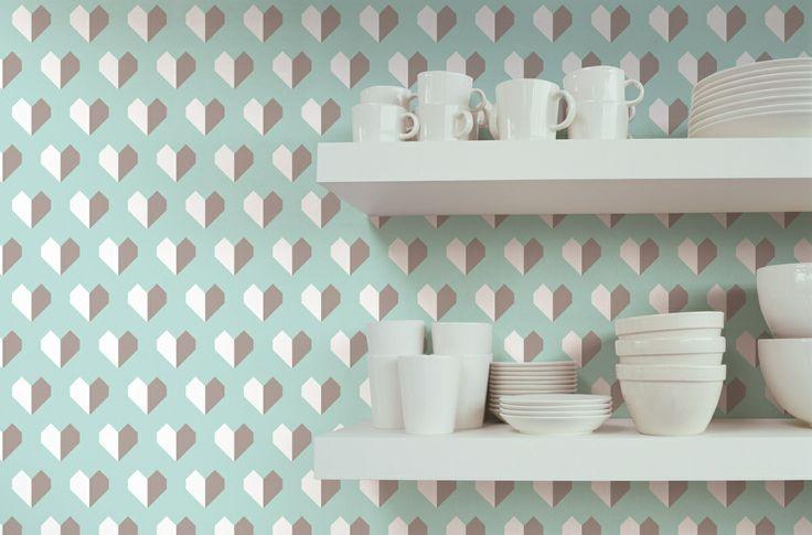 Limited / non-woven wallpaper / lavmi