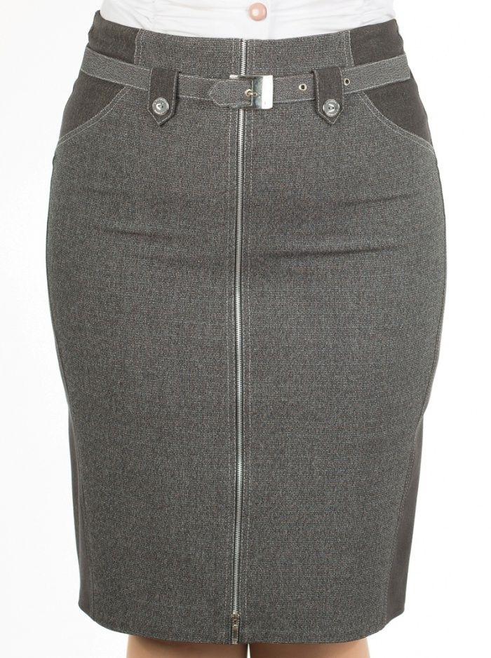 Юбка женская 383-2 | Женские юбки оптом от производителя (Россия)