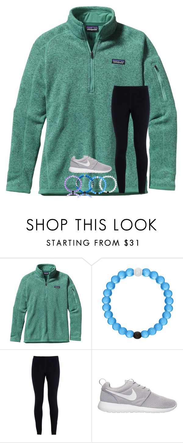 """Gymnastics today "" by abigailcdunn ❤ liked on Polyvore featuring Patagonia and NIKE"