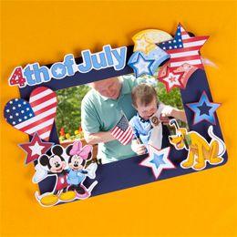 Mickey & Minnie Fourth of July Memory Frame