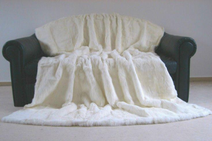 hei er verkauf sehr bequeme wei e farbe natur kaninchen fell decke wolldecke produkt id. Black Bedroom Furniture Sets. Home Design Ideas