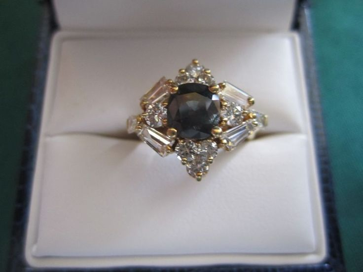 $29,500 Retail Value Natural Cushion Cut Alexandrite & Diamond  3.21ctw 18k Ring  | eBay