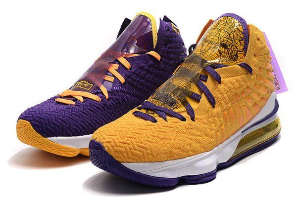 "Nike LeBron 17 ""What The"" Lakers Purple"