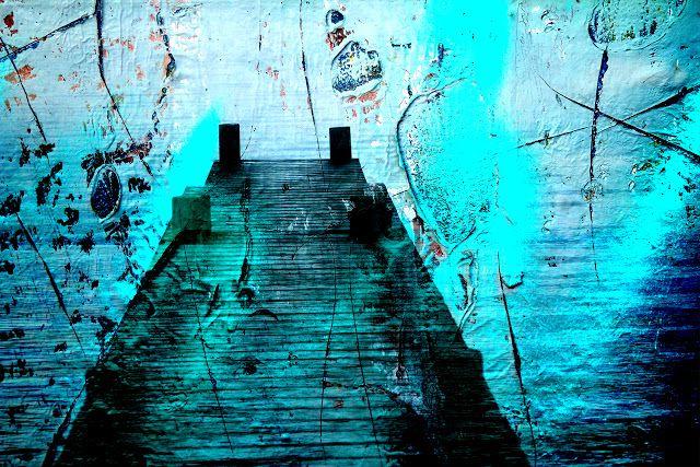Rotorua Artist Janet Keen Art, Writing, Teaching, Photography and Mosaics: Rotorua Lakefront double exposure Photography with...