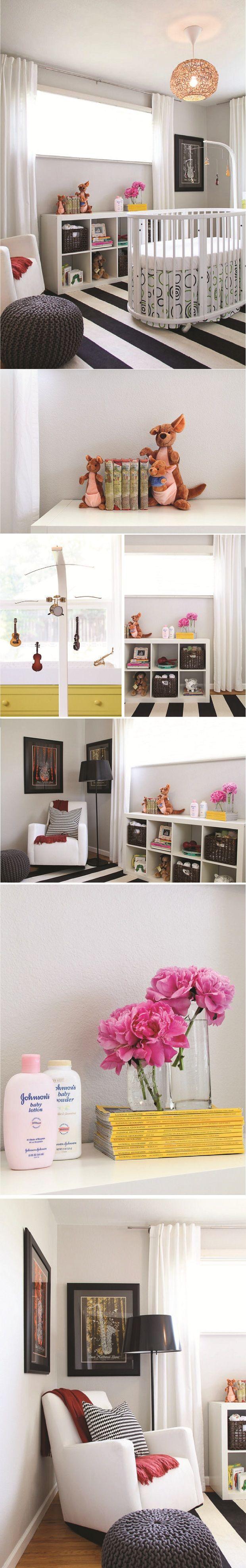 174 best baby | modern b&w nursery images on Pinterest | Nursery ...