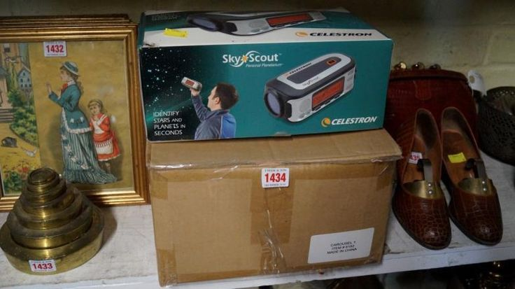Stride & Son : A Selestron Sky Scout personal planetarium, boxed; : Online Auction Catalogue