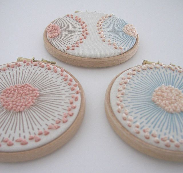 French Knots...really pretty