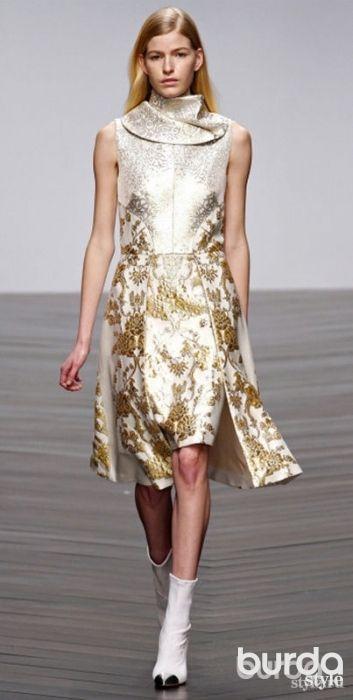 Праздничные наряды в новой коллекции OSMAN #burdastyle #burda #мода #fashion