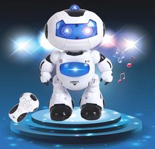 rc robot speelgoed muzikaal speelgoed elektronische afstandsbediening dansen robot lopen lightenning kerst verjaardag geschenk speelgoed voor kind kind jongen