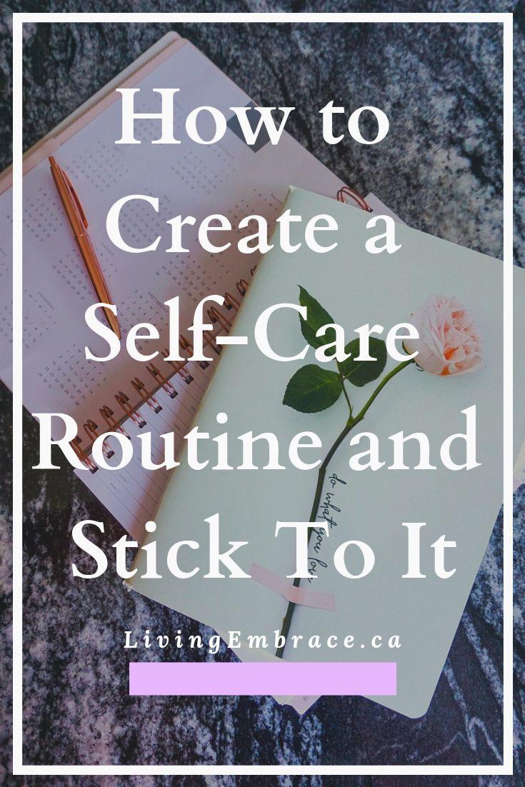 Je mehr Sie sich selbst pflegen, desto einfacher wird es, daraus eine Routine zu machen …   – Self Care Ideas