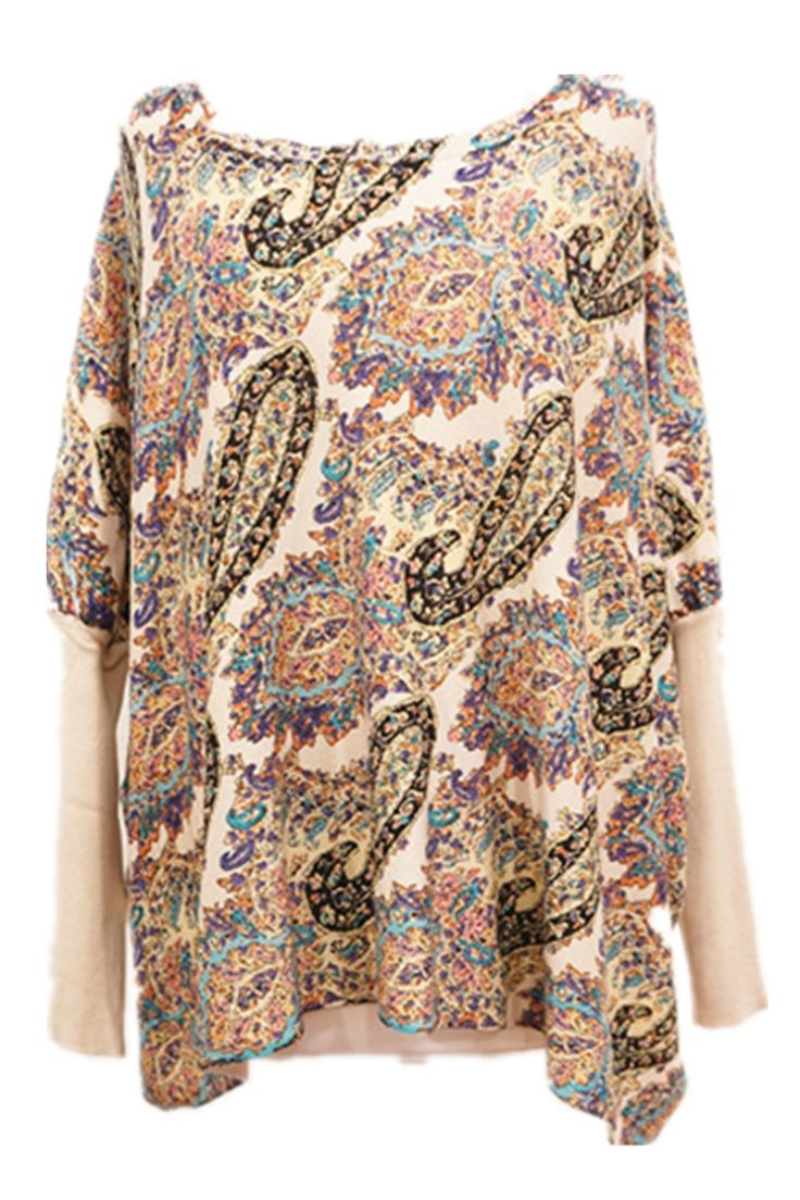 Cute Paisley print jumper.