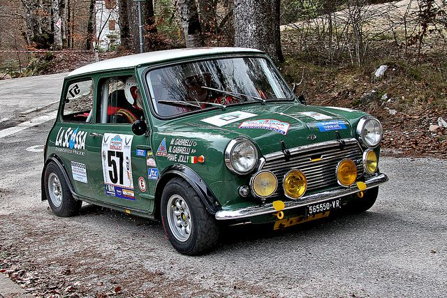 INNOCENTI MINI COOPER MK II  - 3 Rally HISTORIC VALSUGANA  19.03.2011 by marvin 345, via Flickr
