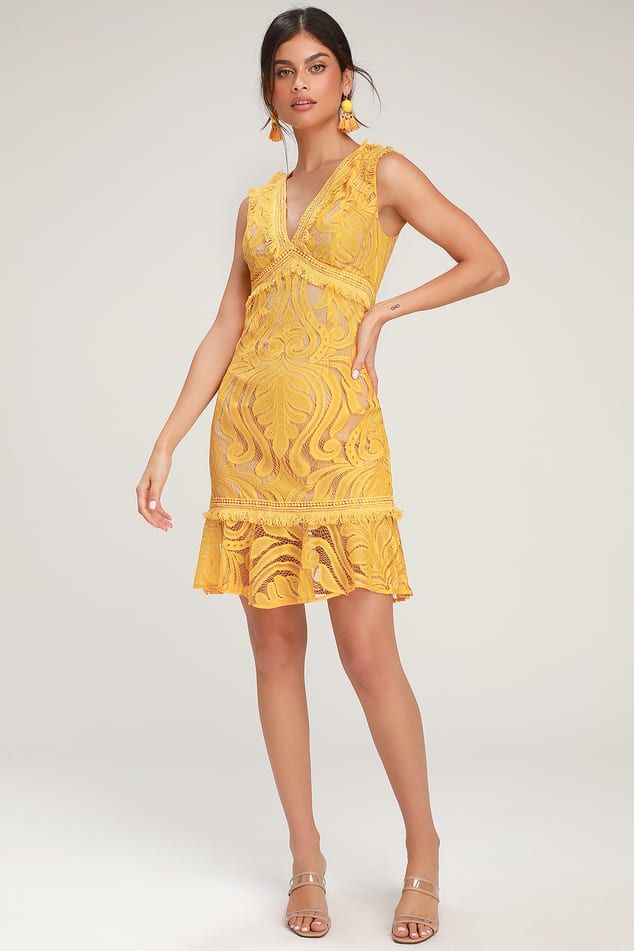 20cead71c4 Find a Trendy Women's Yellow Dress to Light Up a Room | Affordable, Stylish  Yellow