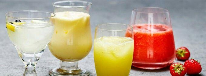 Summer drinks (virgin)