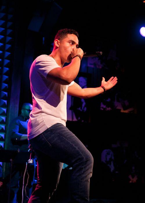 Pics from Dylan Golden and The G$M Band at Joe's Pub! #NYC #Nightlife #DylanGolden #HipHop #JoesPub