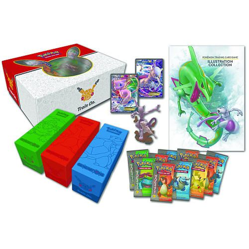 From the earliest days of Pokemon, Mew and Mewtwo have been two of the most celebrated battlers, both Pokemon with great strength of will and great raw power. Now they arrive as never-before-seen Mew-EX and Mewtwo-EX foil cards and combined as a unique sculpted figure, ready to use their incredible Psychic power as part of the Pokemon TCG: Super-Premium Collection Mew and Mewtwo!<br><br>The Pokemon Mew & Mewtwo Super Collection Box Features:<br><ul><li>2 never-before-seen foil promo cards…