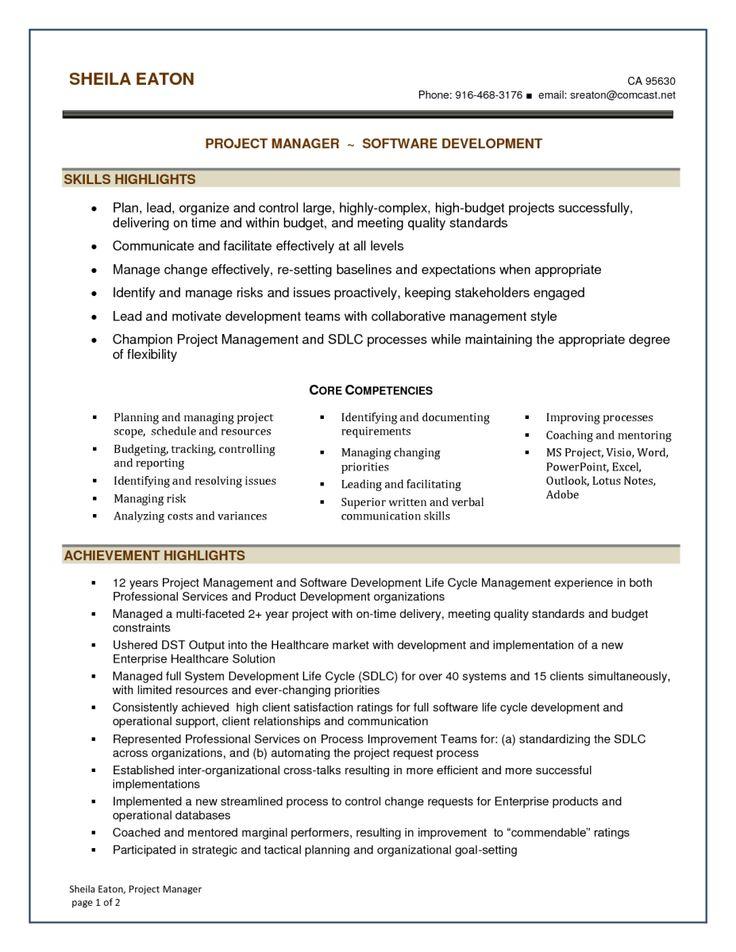 executive management resume skills 28 images course