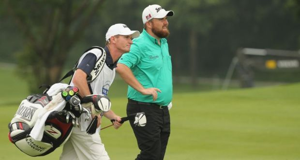 Shane Lowry  during round two of the recent Volvo China Open at Genzon Golf Club.