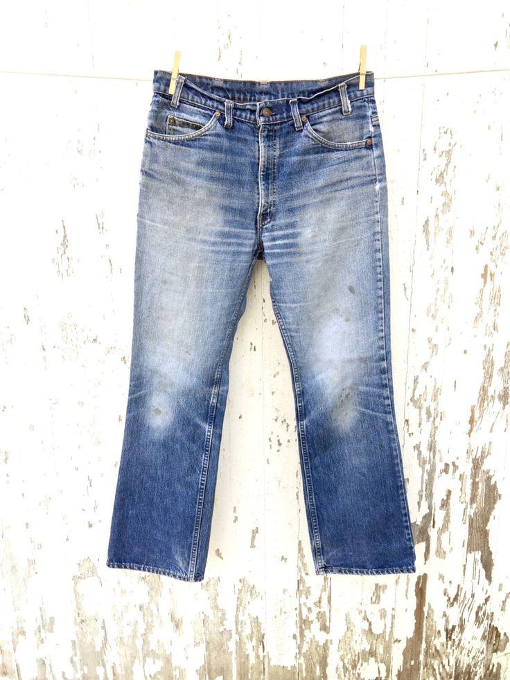 LEVIS 517 Jeans 32 Waist Orange Tab by HuntedFinds on Etsy https://www.etsy.com/listing/254958022/levis-517-jeans-32-waist-orange-tab
