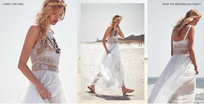 Богемные свадебные наряды в Shopbop (Интернет-журнал ETODAY)