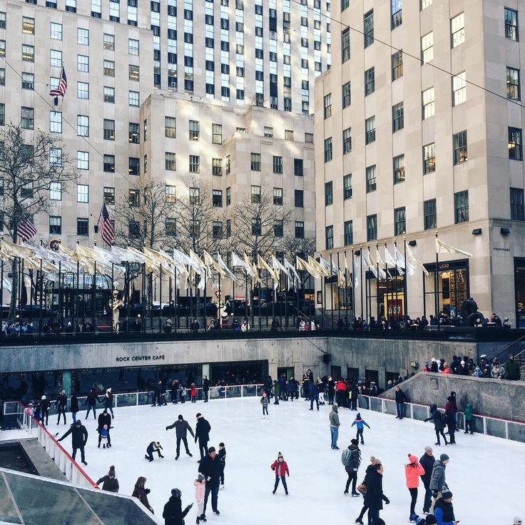 Skating at Rockefeller Center ⛸