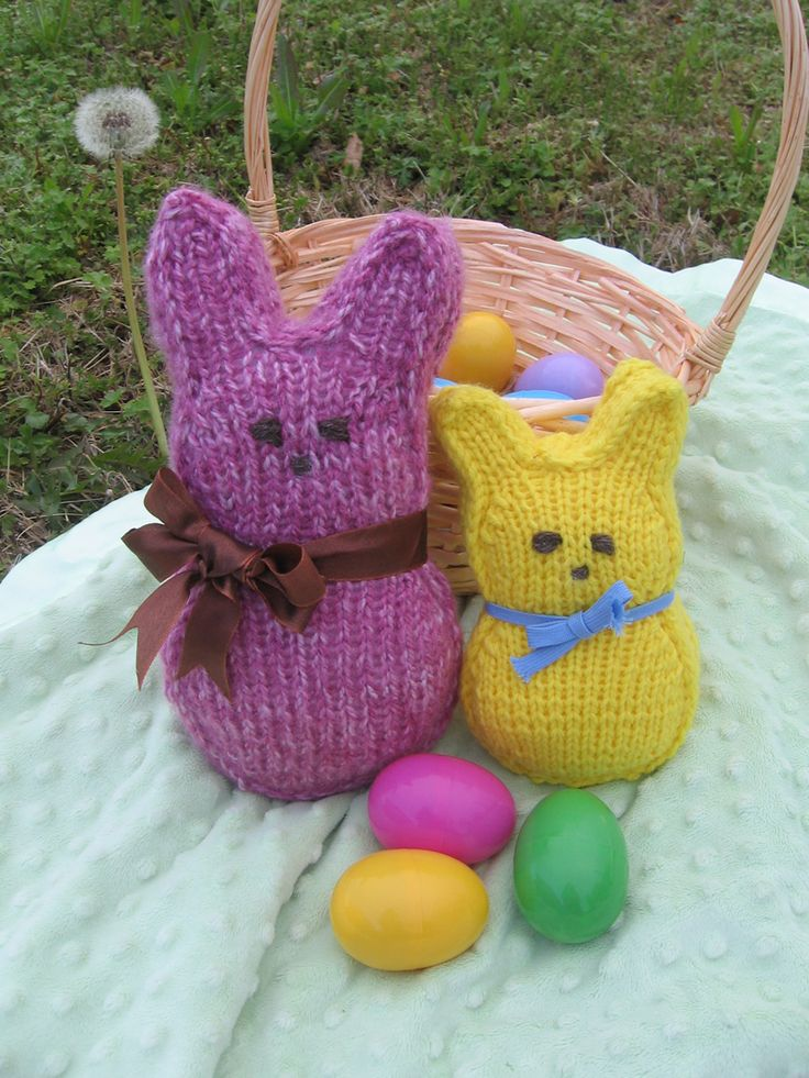 Bunnies, Bunnies, Bunnies! We have two special designs. First, we have the Easter Egg Bunny–a delightful miniature bunny that fits inside a plastic egg and second the Sweet Cuddle Bunny.