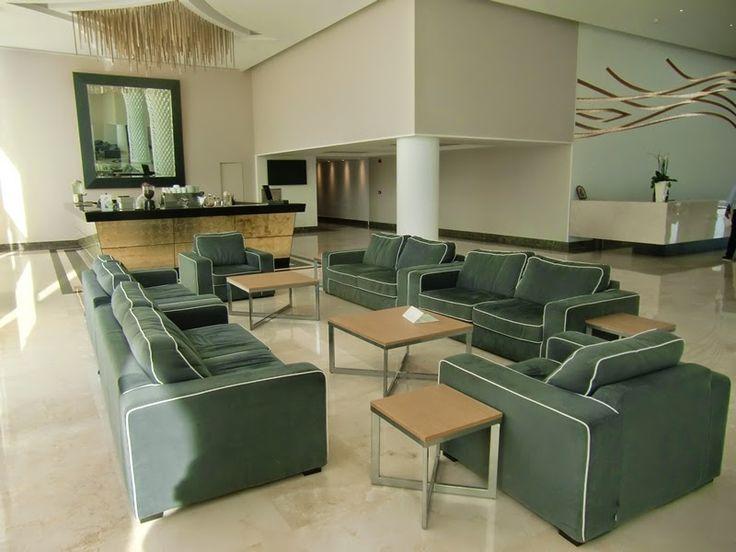 Mexil Design:  Hotel Princess Andrianna Resort Spa Rhodes #hotel #mexil #rhodes #lobby
