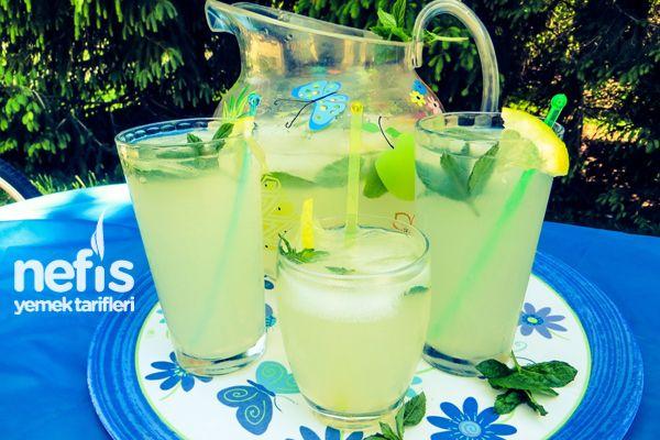 Naneli Limonata Tarifi