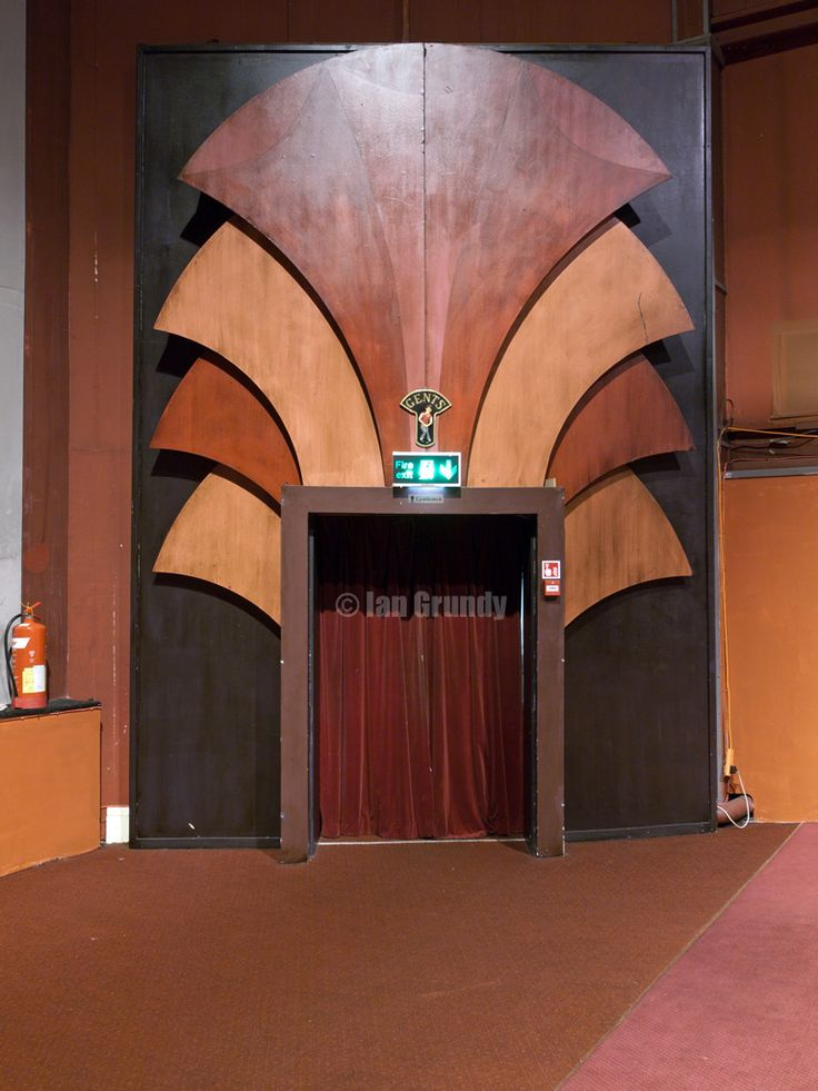 The art deco Regent Cinema, Redcar, Cleveland, England. The Regent was used as a location in the film Atonement