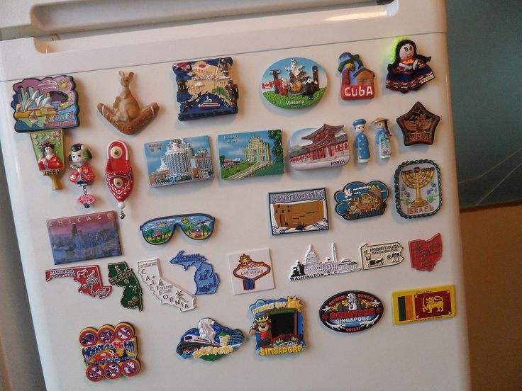 Beautiful refrigerator magnets