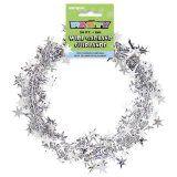 Star Wire Garland 20 Feet-Silver