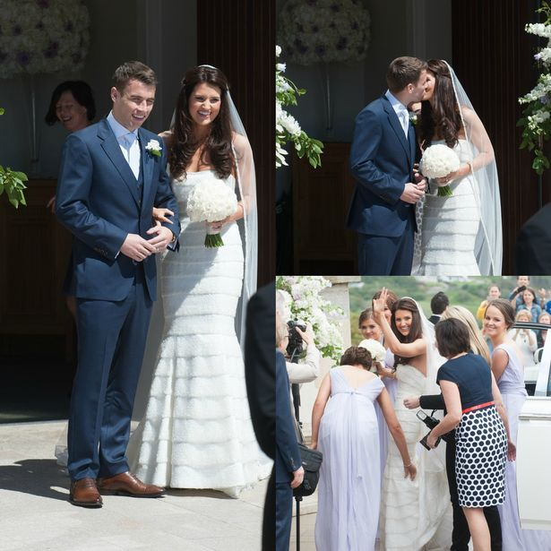 Ireland soccer star Seamus Coleman marries sweetheart in sun-soaked Donegal - Irish Mirror Online