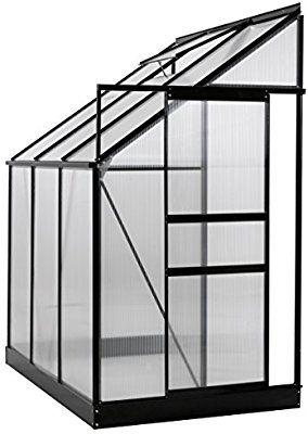 Amazon Com Ogrow 25 Sq Ft Aluminum Lean To Greenhouse 400 x 300